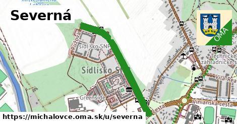 ilustrácia k Severná, Michalovce - 1,47km