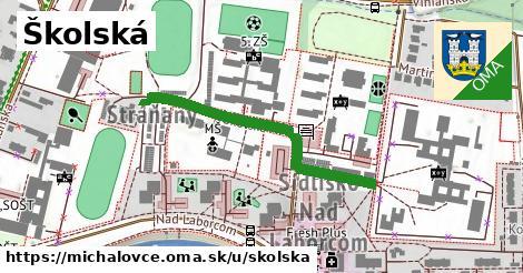 ilustračný obrázok k Školská, Michalovce