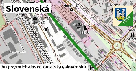 ilustrácia k Slovenská, Michalovce - 482m