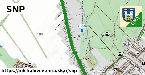 ilustrácia k SNP, Michalovce - 1,21km