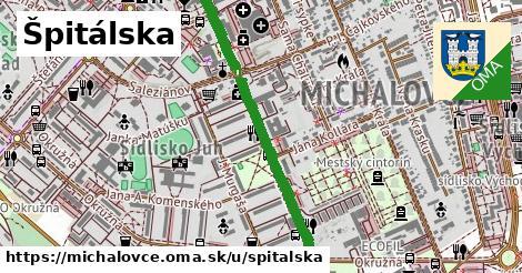 ilustrácia k Špitálska, Michalovce - 1,12km