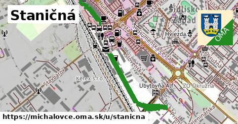 ilustrácia k Staničná, Michalovce - 0,70km