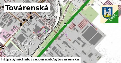 ilustrácia k Továrenská, Michalovce - 1,42km