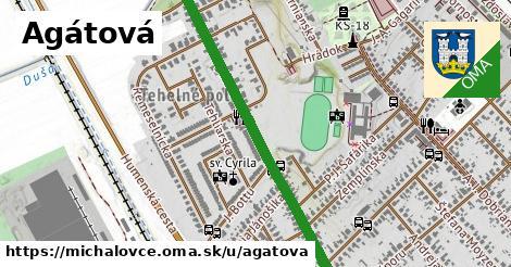ilustrácia k Agátová, Michalovce - 0,87km