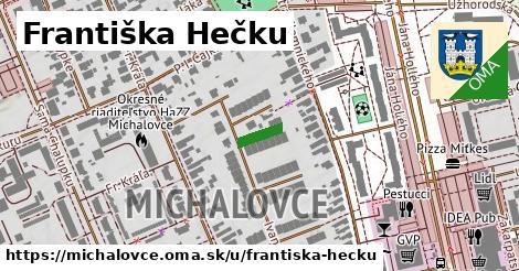 ilustrácia k Františka Hečku, Michalovce - 65m