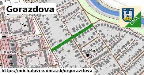 Gorazdova, Michalovce