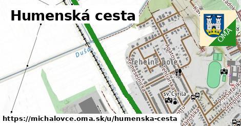 Humenská cesta, Michalovce