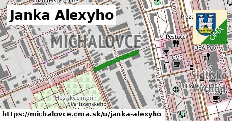 ilustrácia k Janka Alexyho, Michalovce - 152m