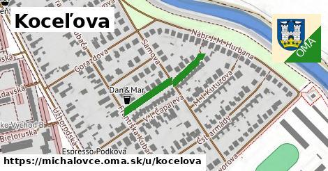 ilustrácia k Koceľova, Michalovce - 222m