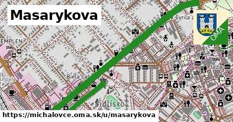 ilustrácia k Masarykova, Michalovce - 2,8km