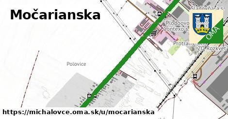 Močarianska, Michalovce