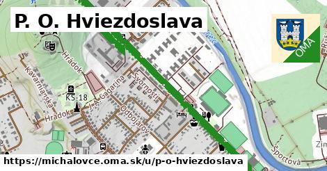 P. O. Hviezdoslava, Michalovce