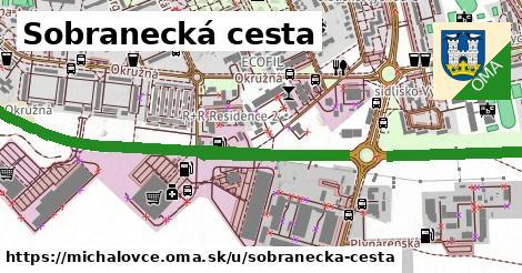 Sobranecká cesta, Michalovce