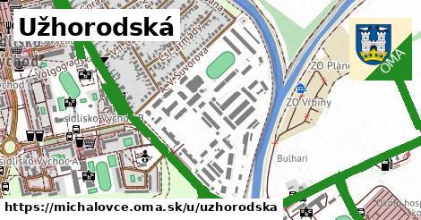 ilustrácia k Užhorodská, Michalovce - 3,4km