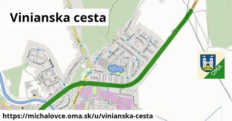 ilustrácia k Vinianska cesta, Michalovce - 4,9km