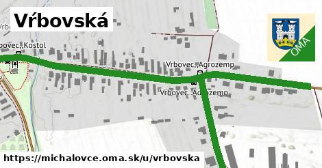 ilustrácia k Vŕbovská, Michalovce - 1,00km