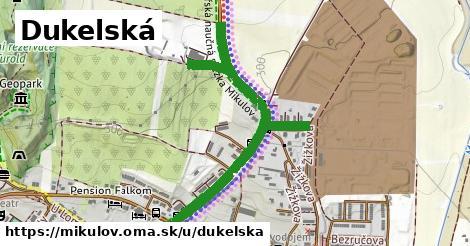 ilustrácia k Dukelská, Mikulov - 1,09km