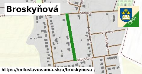 ilustrácia k Broskyňová, Miloslavov - 208m