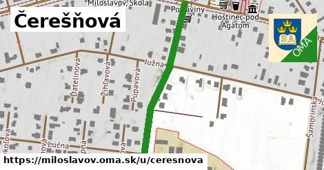ilustrácia k Čerešňová, Miloslavov - 404m