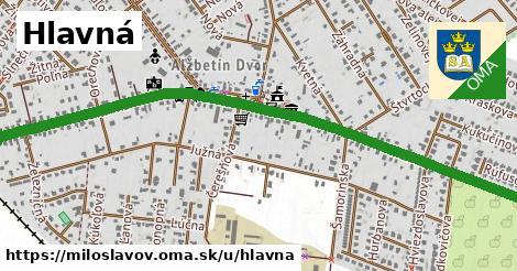 ilustrácia k Hlavná, Miloslavov - 0,74km