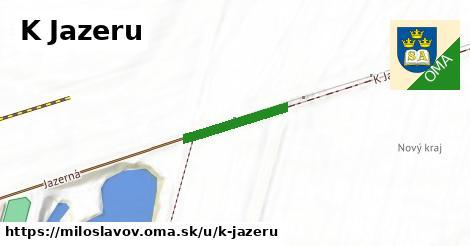 ilustrácia k K Jazeru, Miloslavov - 1,00km