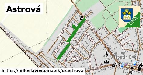 ilustrácia k Astrová, Miloslavov - 576m