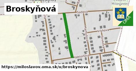 ilustrácia k Broskyňová, Miloslavov - 256m