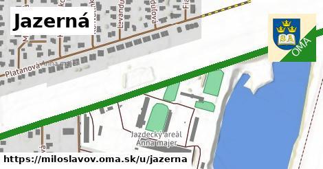 ilustrácia k Jazerná, Miloslavov - 0,83km