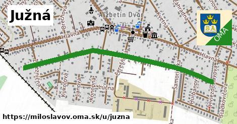 ilustrácia k Južná, Miloslavov - 1,00km
