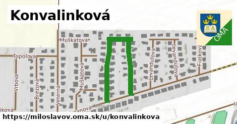 ilustrácia k Konvalinková, Miloslavov - 434m