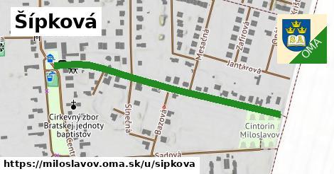ilustrácia k Šípková, Miloslavov - 538m