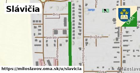 ilustrácia k Slávičia, Miloslavov - 373m