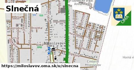 ilustrácia k Slnečná, Miloslavov - 0,86km