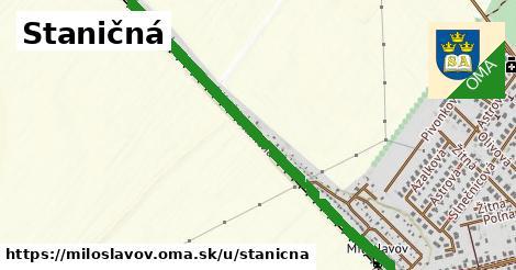 ilustrácia k Staničná, Miloslavov - 1,26km