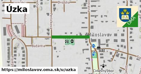 ilustrácia k Úzka, Miloslavov - 199m