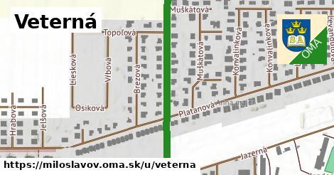 ilustrácia k Veterná, Miloslavov - 509m