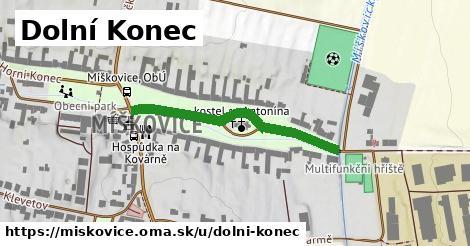 ilustrácia k Dolní Konec, Míškovice - 342m