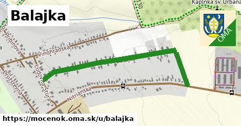 ilustrácia k Balajka, Močenok - 1,09km