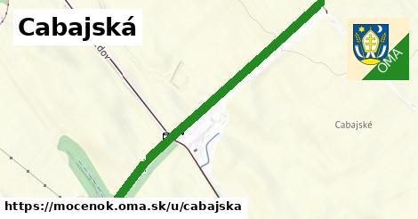 ilustrácia k Cabajská, Močenok - 1,67km