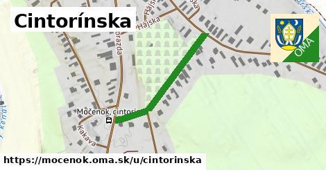 ilustrácia k Cintorínska, Močenok - 306m