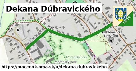 ilustrácia k Dekana Dúbravického, Močenok - 541m