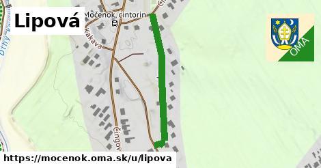 ilustrácia k Lipová, Močenok - 316m
