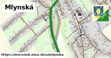 ilustrácia k Mlynská, Močenok - 1,05km