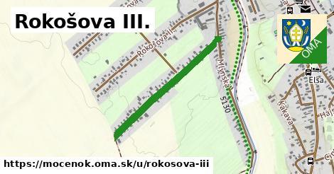 ilustrácia k Rokosova III, Močenok - 650m