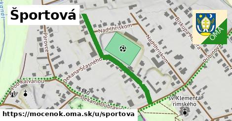 ilustrácia k Športová, Močenok - 382m