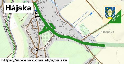 ilustrácia k Hájska, Močenok - 1,44km