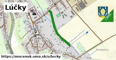 ilustrácia k Lúčky, Močenok - 556m