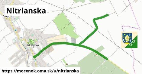 ilustrácia k Nitrianská, Močenok - 1,58km