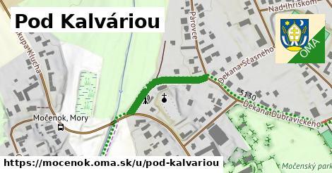 ilustrácia k Pod Kalváriou, Močenok - 212m