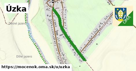 ilustrácia k Úzka, Močenok - 695m